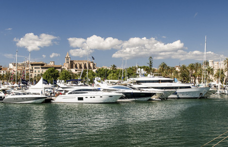 Sunseeker Mallorca are exhibiting at the Palma Superyacht Show from April 30th to May 4th