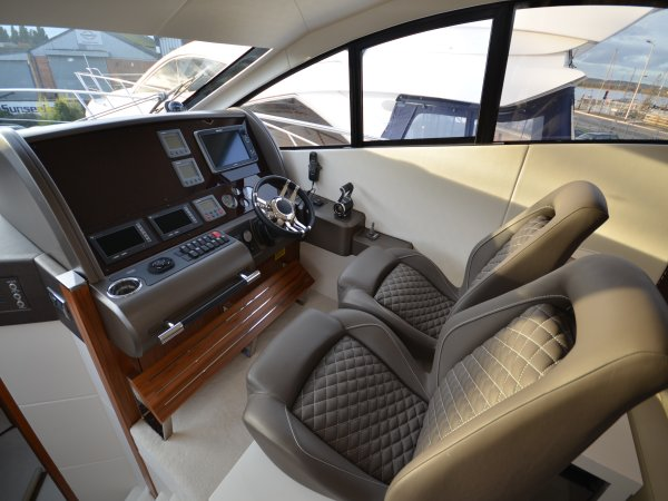 "The Manhattan 53 ""FAB 2"" represented excellent value ahead of the Summer season, and will shortly be shipped to the Med"