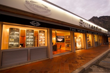 The Sunseeker France Group's Beaulieu office is located just metres from the waters' edge in the popular marina
