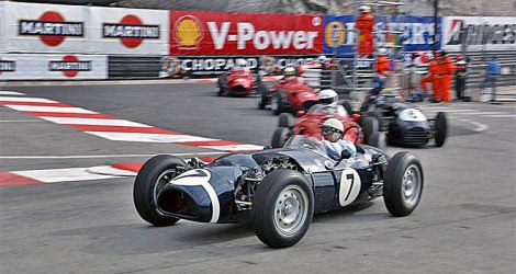 The Historic Grand Prix is a hugely popular event in Monaco, held 2 weeks ahead of the main event on 25th May 2014
