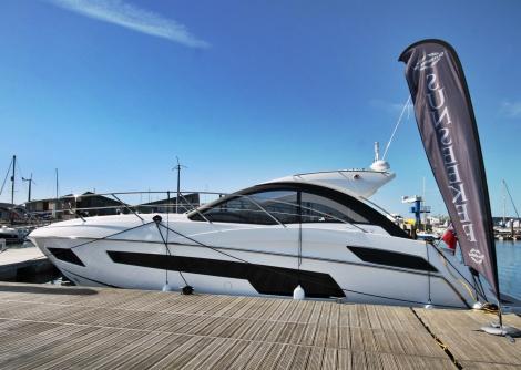 The presence of the entry-level Portofino 40 proved a popular addition to the Portland Marina Boat Show & Festival