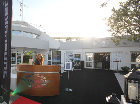 Sunseeker France Group, Sunseeker Monaco and Sunseeker Superyacht Management came together for the Captains Party