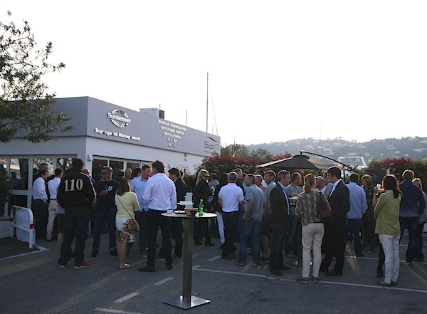 The Sunseeker Captains Party was well attended by Captains, crew and industry professionals alike