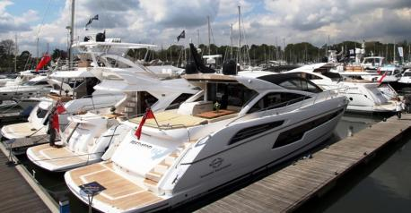 Last year's British Motor Yacht Show proved a great success for the Sunseeker London Group, with a number of sales generated from the weekend