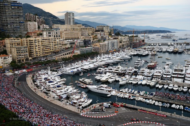 Sunseeker yachts have always enjoyed a great synergy with the F1 world - the 155 Yacht will be seen at the Monaco GP