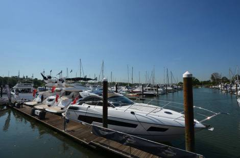The Best of British: Sunseeker, Princess and Fairline yachts are on display at BMYS 2014