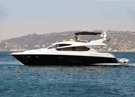 This Sunseeker Manhattan 63 will be on display at Conwy Marina for the All Wales Boat Show, from May 30th to 1st June