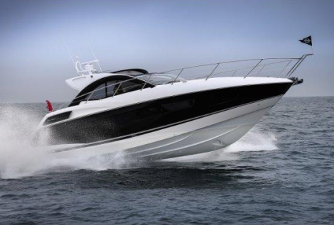 The Sunseeker San Remo 485 will be the star of Sunseeker Spain's display, located near to the 6to6 VIP Village and adjacent to Porsche and Mercedes