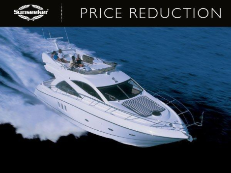 "Sunseeker Manhattan 50 ""SARAH's OF MONACO"" has been reduced with Sunseeker Monaco"