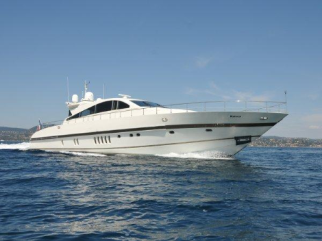 Equipped with arneson drives, this Leopard 27M Open sports a thrilling ride