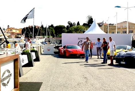 The 4-day Sunseeker Yacht Show was well attended in the port of Beaulieu
