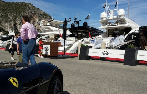 A wide range of Sunseeker motor yachts were on display over the weekend, from a Portofino 53 to a Predator 84