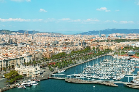 Barcelona provides a stunning backdrop for the luxury lifestyle and car brands exhibiting at the 6to6 event