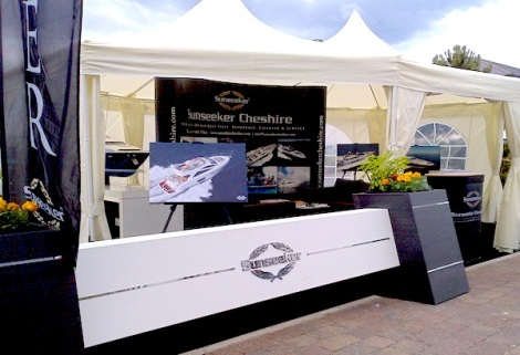 Sunseeker Cheshire will welcome clients and guests to the show within their VIP hospitality area