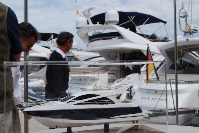 The Open Day celebrated a partnership between two iconic brands in Mallorca - Sunseeker and Porsche