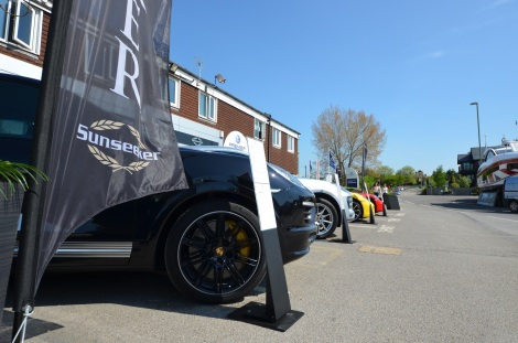Sunseeker Southampton partnered with Porsche Cars GB to showcase a stunning selection of new Porsche cars, from the Macan to the Cayman