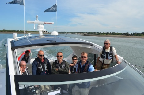 MBY readers were treated to a VIP Sea Trial Day on board the Sunseeker San Remo, Fairline Squadron 48 and Princess V52 along the Hamble River and Solent
