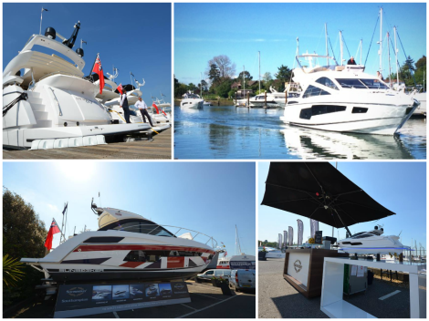 Sunseeker is exhibiting at the British Motor Yacht Show is at Swanwick Marina from May 16th-18th
