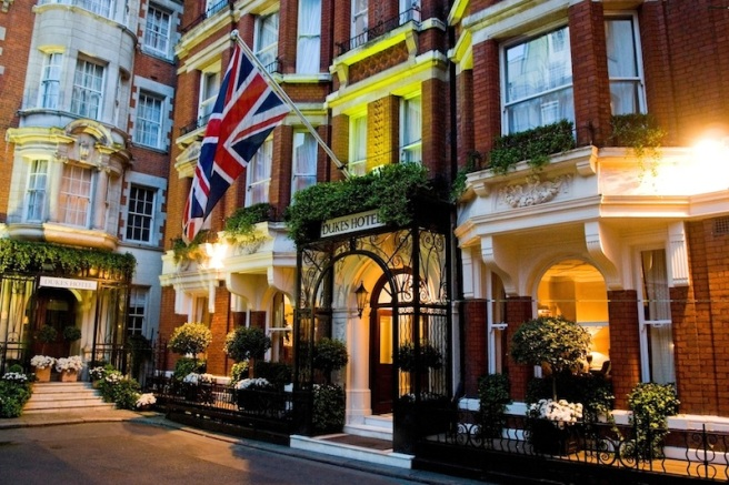 Dukes Hotel London is located in the desirable and exclusive area of St James's