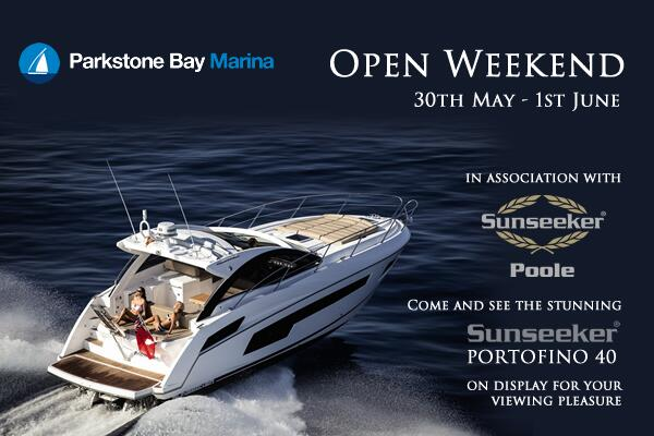 Sunseeker Poole will be showcasing a brand-new Portofino 40 from Friday 30th May-Sunday 1st June at Parkstone Bay Marina