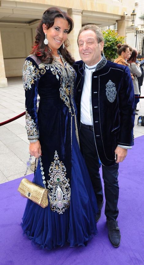 Sunseeker London's Alexis and David Lewis attended the star-studded evening, which featured electric performances from Kylie Minogue, The Pretenders and Alfie Boe
