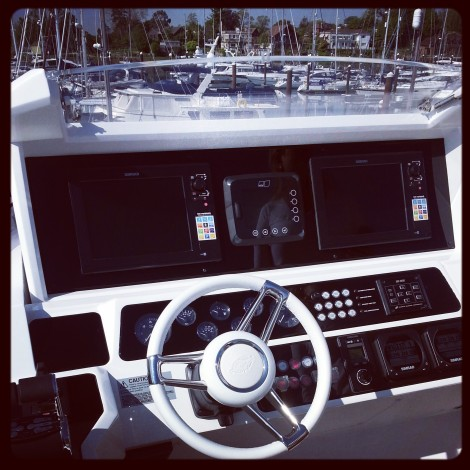 The sun is shining, water glistening, this weekend promises to celebrate the very best of British boating in Swanwick Marina - come and join Sunseeker!