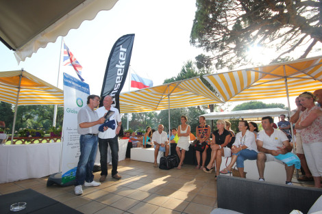 Jean-Marc Zubovic, pictured above at last year's event, is looking forward to the Globe Brodeurs Cup which will feature a Sunseeker charter as the Grand Prize