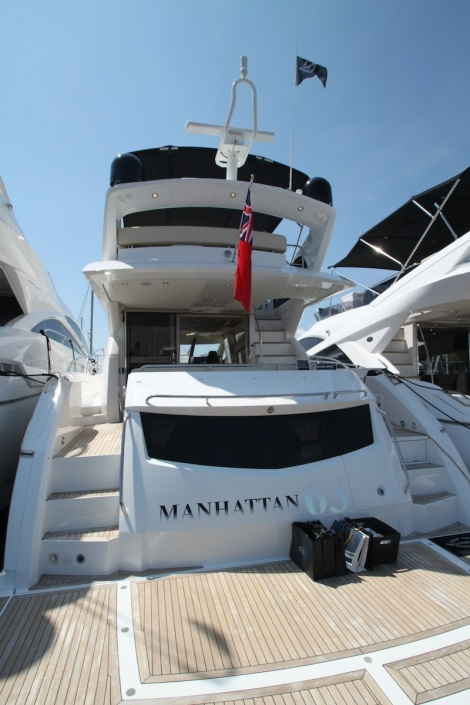 A flybridge icon: The Sunseeker Manhattan 63