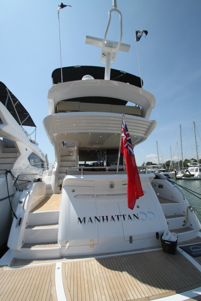 The Sunseeker Manhattan 55 has proved highly popular since its release in September 2013
