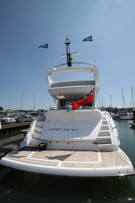Highly popular for 2014: The Sunseeker 68 Sport Yacht