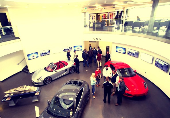 Sunseeker London clients from around the country came to the event, at which they had the opportunity to drive a number of Porsche cars