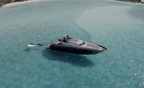 This Sunseeker Predator 108 features in a breathtaking video that was filmed by CAVORT in the Caribbean