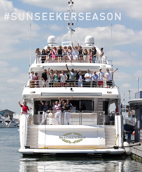 Be part of #SunseekerSeason!