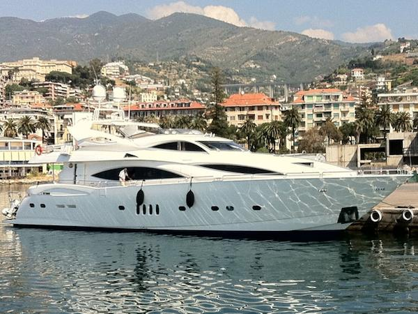 "The 105 Yacht ""BUNNY"" was delivered to Montenegro before cruising to Greece with her new owner"