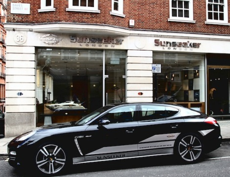 Sunseeker London's 36 Davies Street premises is undergoing an extensive refit this summer
