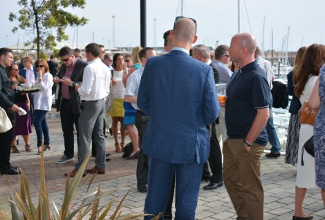 Guests enjoyed a glorious Summer's evening alongside Sunseeker Channel Islands and the event's partners for the JADO Summer Reception