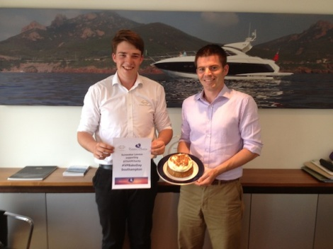 Sunseeker Southampton have joined in with the baking on the South Coast! #VPBakeday