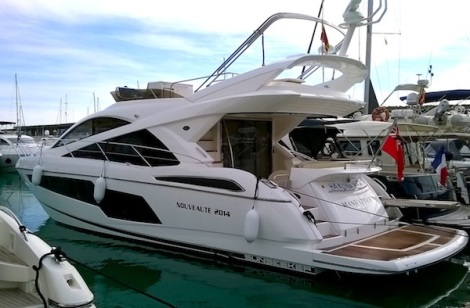 This is the first Sunseeker Manhattan 55 to enter Mallorquin waters, sold by Andrew Thomas at Sunseeker Mallorca