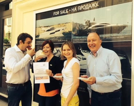 Sunseeker Monaco get into the swing of baking and sharing for #VPBakeday