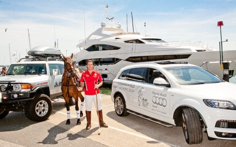 Sunseeker Poole have partnered with the Asahi British Beach Polo Championships, held at Sandbanks on 11-12th July (Photography by www.RichardBudd.co.uk (C) 2014)