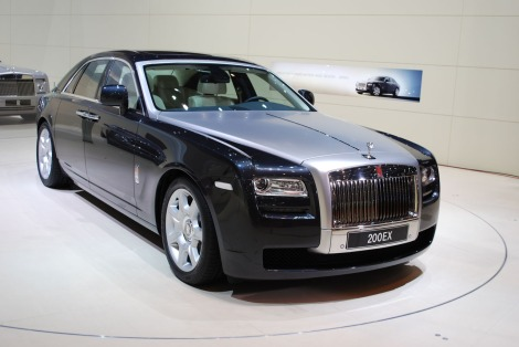 Iconic Rolls-Royce cars on display at the Sunseeker Turkey client event included the new Ghost II