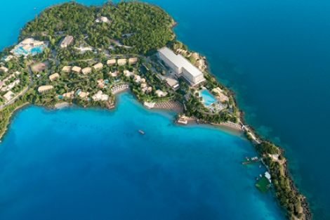 The Corfu Imperial and its surroundings will provide a stunning backdrop to the event with Sunseeker Hellas