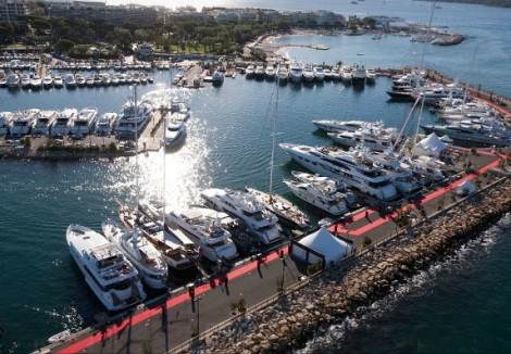 Sunseeker yachts will be on display at Port Canto as part of the event