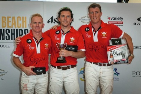 2The Welsh polo team took the British Beach Polo Championship title for 2014