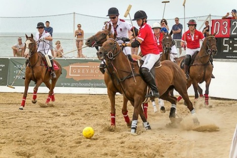 The annual Asahi British Beach Polo Championships, held in the luxurious surroundings of Sandbanks, was attended by guests of Sunseeker Poole and Sunseeker Southampton