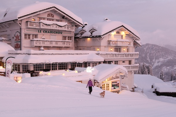 Sunseeker Cannes have announced a collaboration with the iconic Courchevel hotel, Le Chabichou