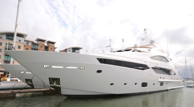 This Sunseeker 40 Metre Yacht was sold and handed over by Sunseeker Poole this week