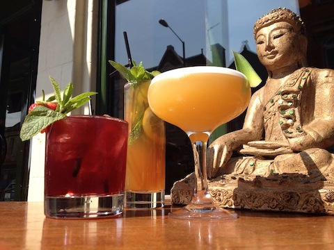With delicious cocktails and thai tapas, Koh Noi brings a taste of Thailand to the area