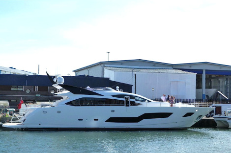 Sunseeker France also delivered this 101 Sport Yacht earlier this #SunseekerSeason