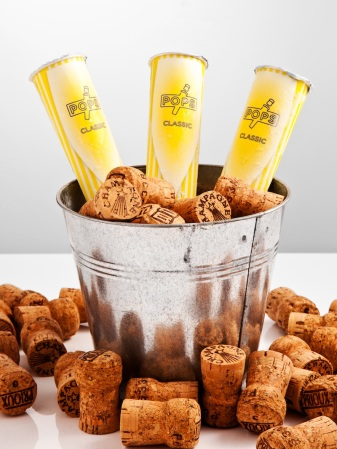 POPS are delectably refreshing and delicious champagne lollipops...perfect to enjoy in the sunshine (responsibly.)